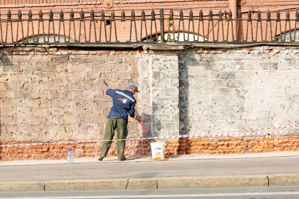 Brick painting